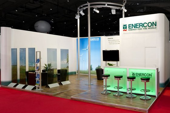Enercon – Recruiting Stand mit Power